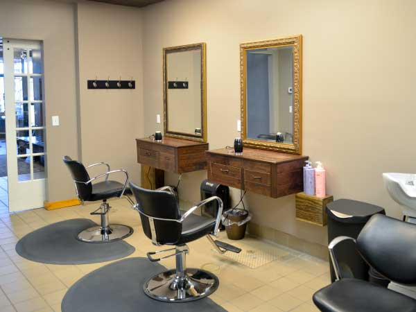 Salon Bambino adult area, family salon in Woodbury MN