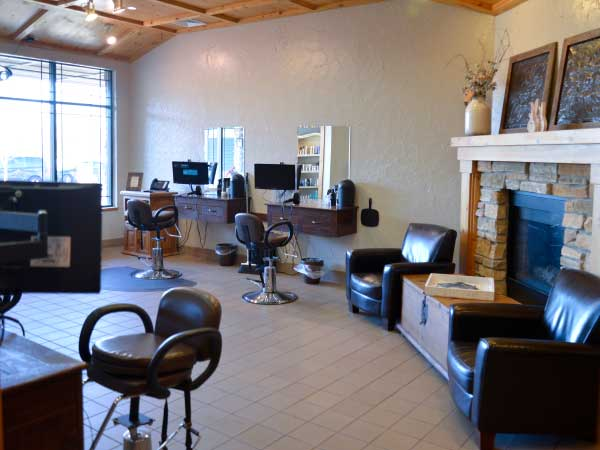 Salon Bambino kids area, family salon in Woodbury MN